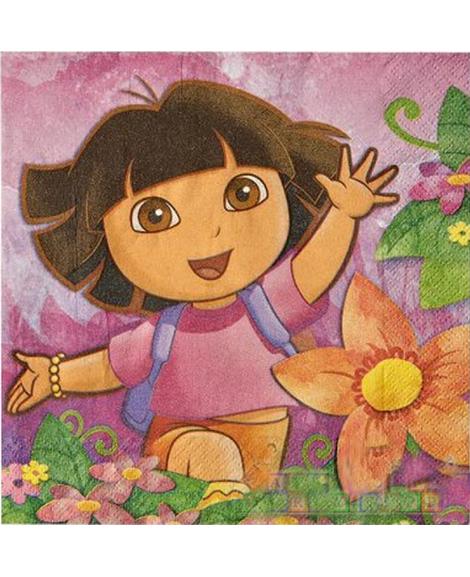 Dora Floral Lunch Napkins