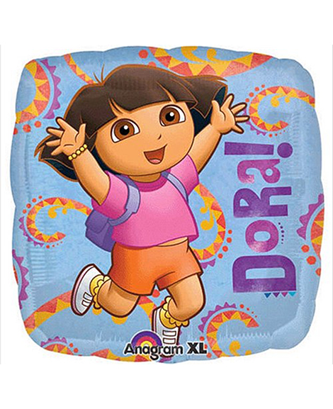 Dora Hola International 18 Inch Square Foil Mylar Balloon