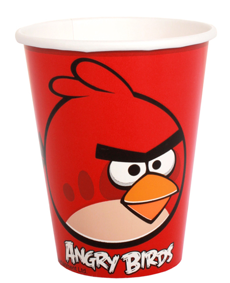 Angry Birds 9 oz Paper Cups
