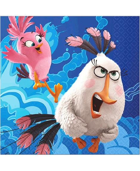 Angry Birds The Movie Dessert Napkins