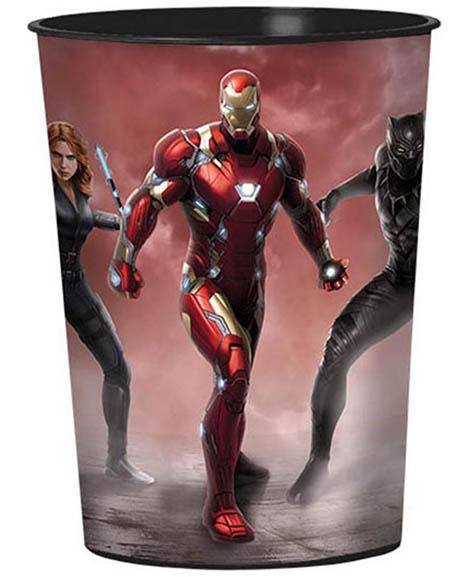 Captain America Civil War Iron Man Keepsake Favor Cup