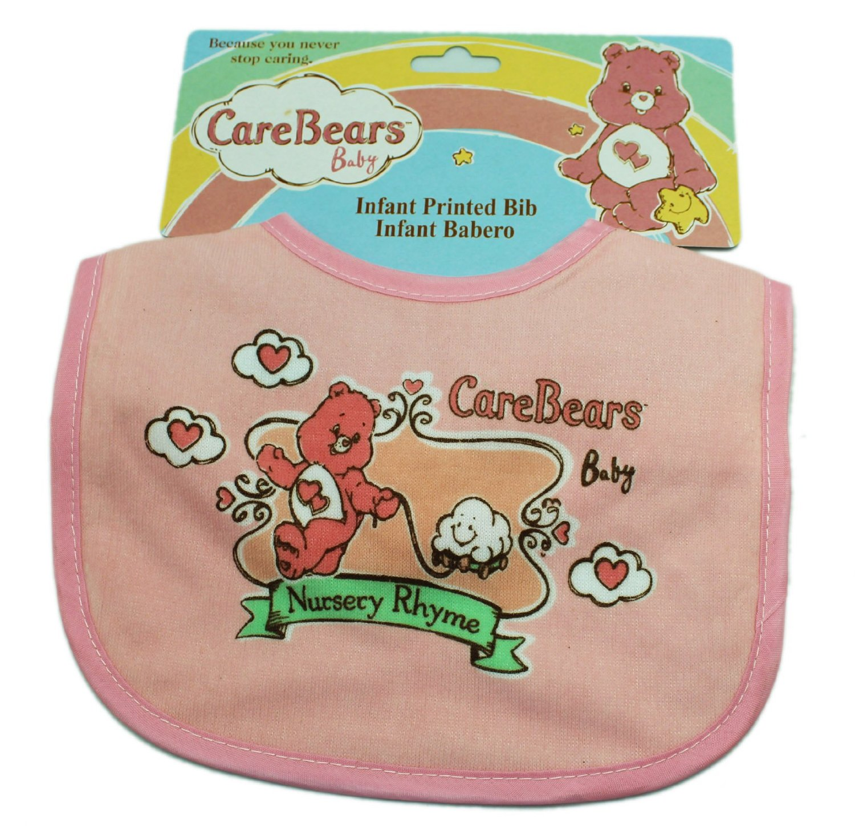 Care Bears Baby Pink Nursery Rhyme Baby Bib