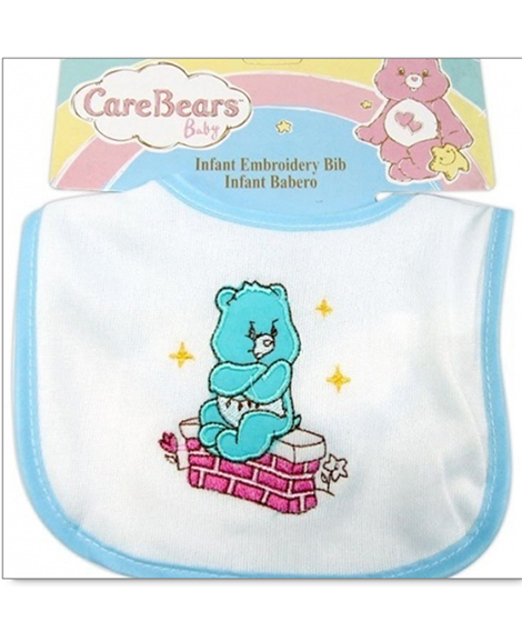 Care Bears Grumpy Bear Embroidered Baby Bib