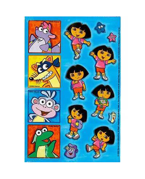 Dora and Friends Party Favor Stickers