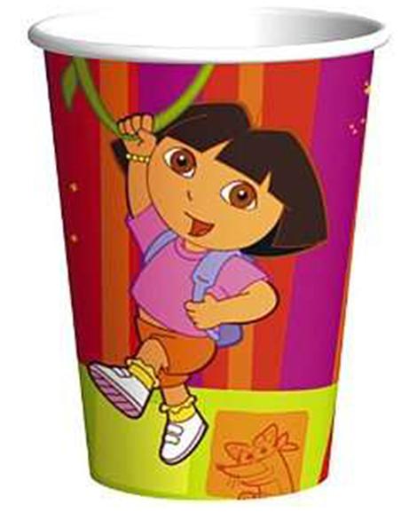 Dora Star Catcher 9 oz Paper Cups