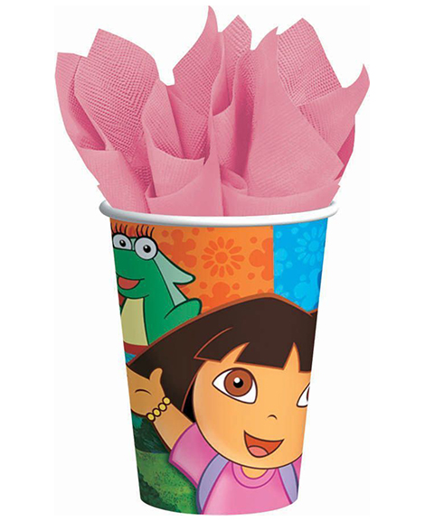 Dora and Friends 9 oz Paper Cups