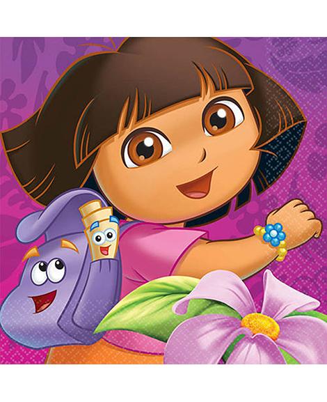 Dora Flower Adventure Lunch Napkins