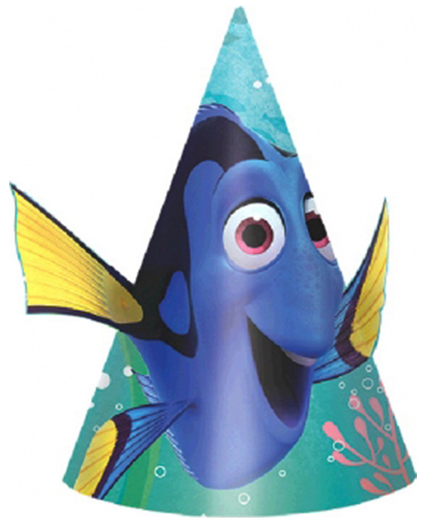 Finding Dory Party Favor Cone Hats