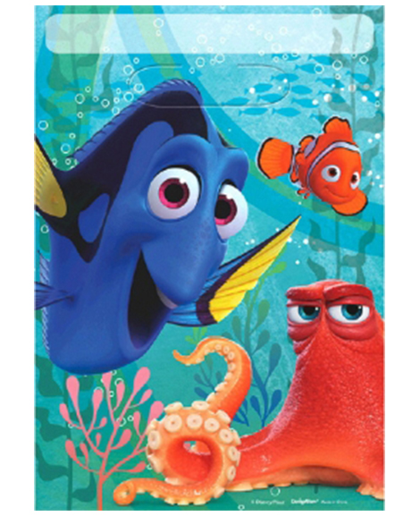 Finding Dory Party Favor Treat Bags
