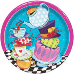 Mad Hatter Tea Party Lunch Plates