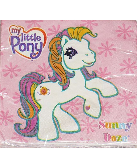 My Little Pony Sunny Daze Lunch Napkins