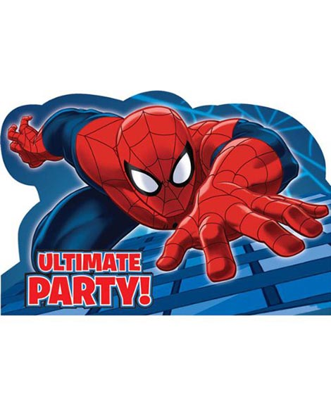 spiderman 2 save the date party invitations party quackers