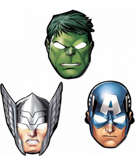Avengers Assemble Marvel Party Favor Masks