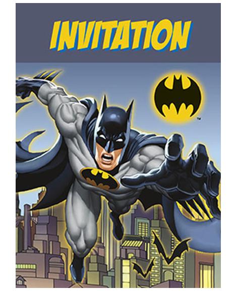 Batman Unique Invitations