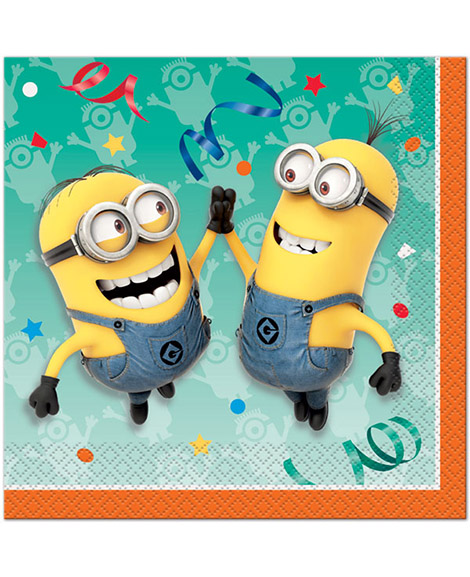 Despicable Me Minions Lunch Napkins