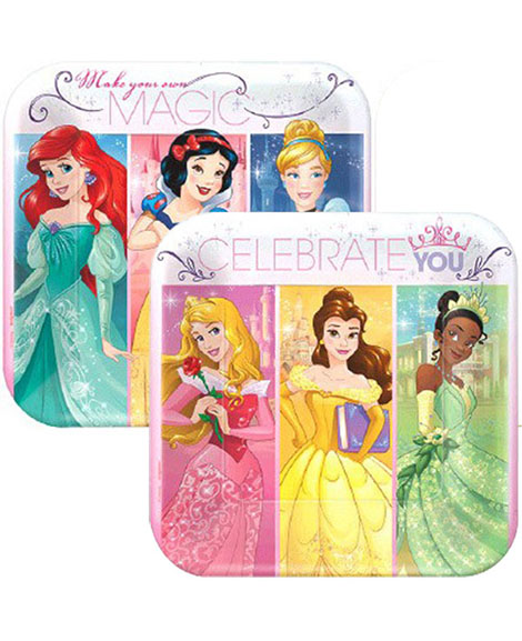 Disney Princess Dream Big Dessert Plates
