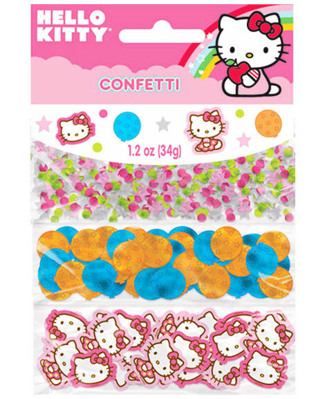 Hello Kitty Balloon Dreams Party Favor Confetti 3 pack