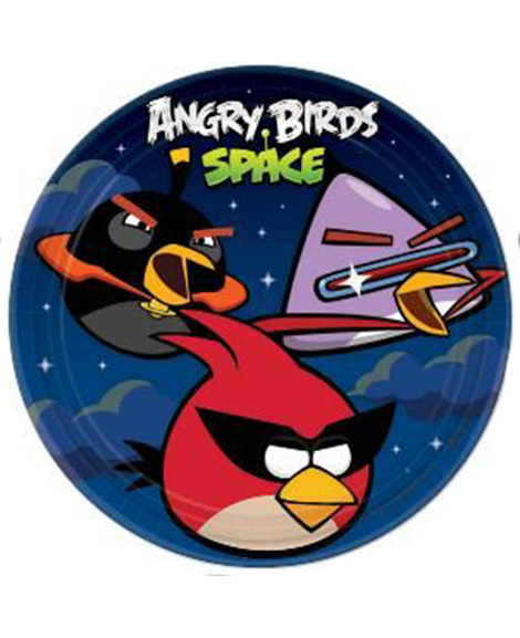 Angry Birds Space Lunch Plates