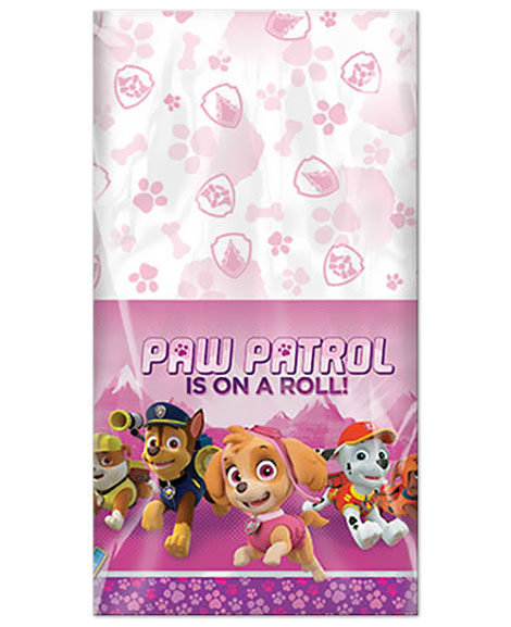 Paw Patrol Girl Plastic Table Cover