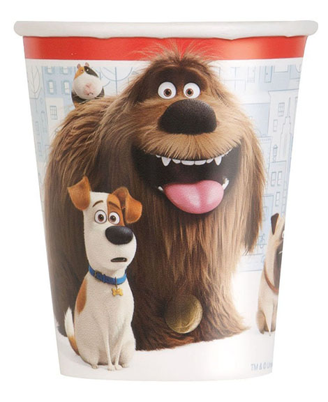 Secret Life of Pets 9 oz Paper Cups 8 Ct