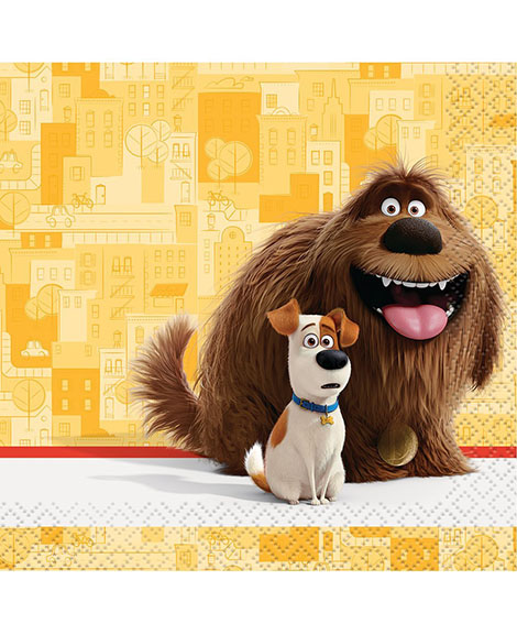 Secret Life of Pets Beverage Napkins