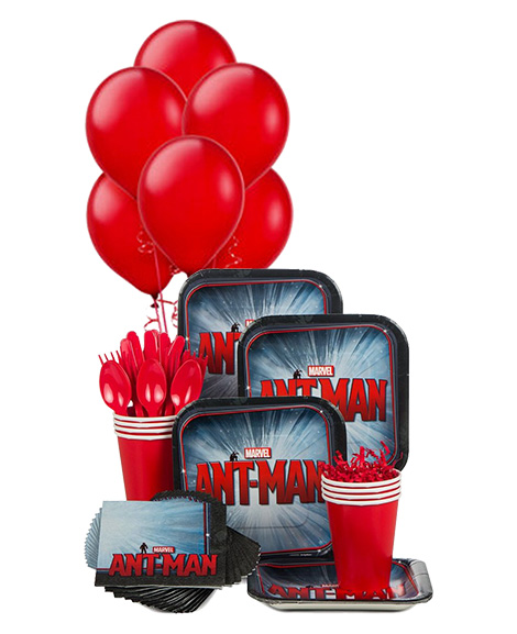 Ant-Man Snack Pack for 8 Guests with Balloons