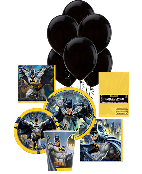 Batman Unique Party Package for 8 Guests