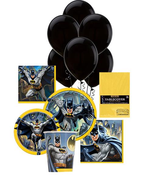 Batman Unique Party Package for 8 Guests