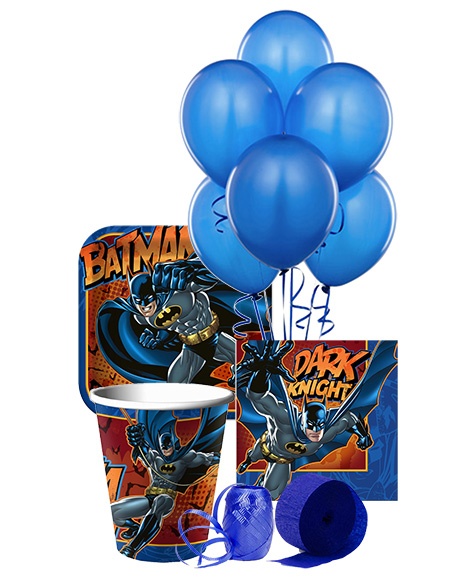 Batman Heroes and Villains Party Package