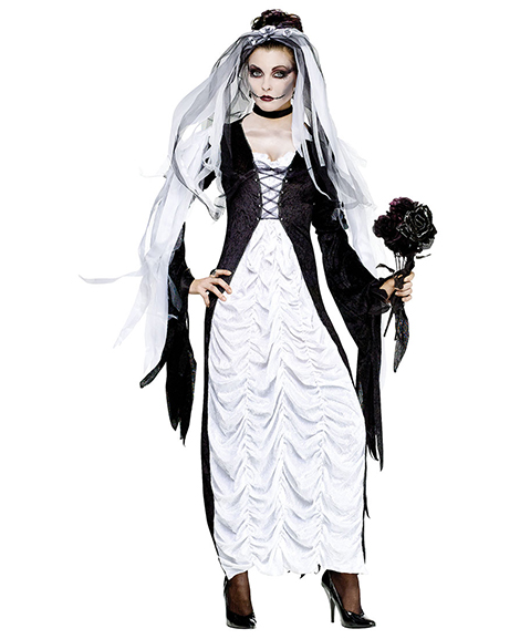 Bride of Darkness Adult Costume Size Small 2-8