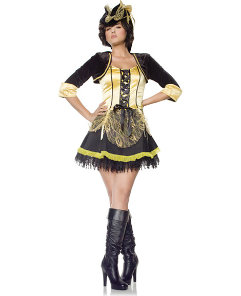 Pirate Wench Adult Women's Costume Size Medium