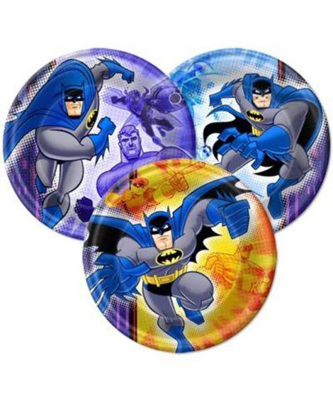 Batman Brave and Bold Dessert Plates