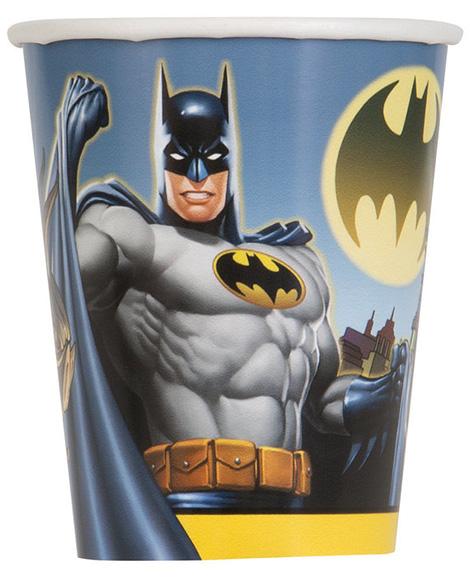 Batman Unique 9 oz Paper Cups
