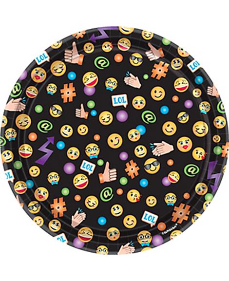 Emoji LOL Amscan Dessert Plates