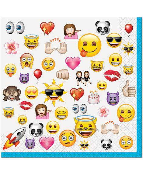 Emoji Unique Lunch Napkins