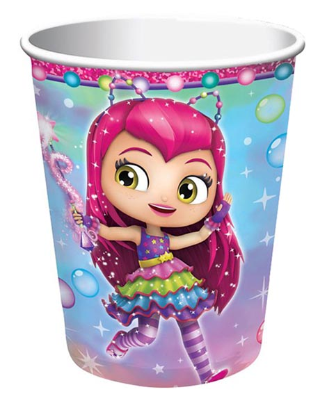 Little Charmers 9 oz Paper Cups 8 Ct