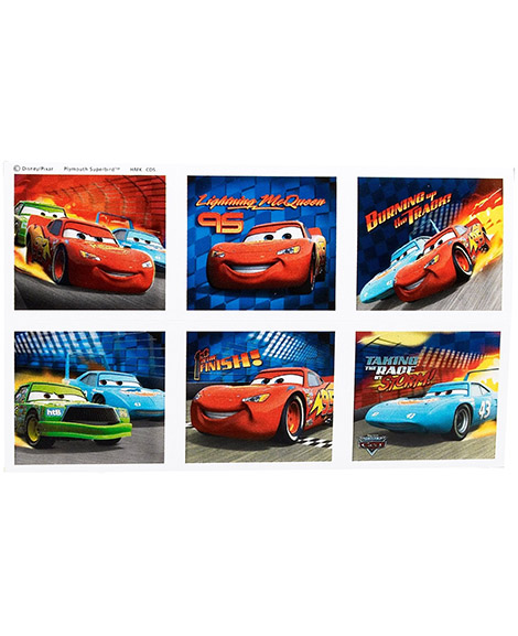 Disney World of Cars Party Favor Stickers