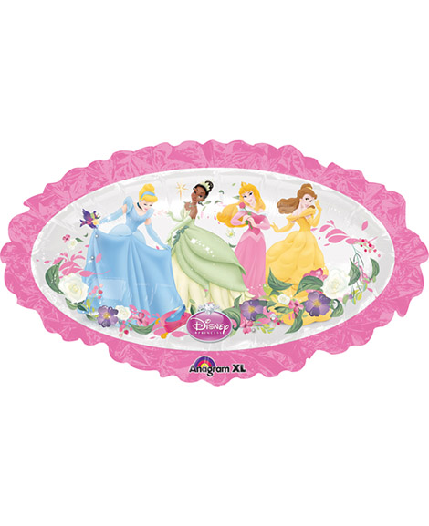 Disney Princess Oval Super-Shape Mylar Balloon