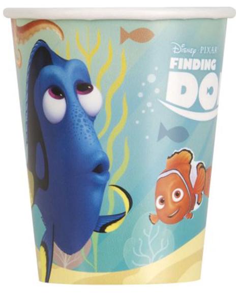 Finding Dory Unique 9 oz Paper Cups