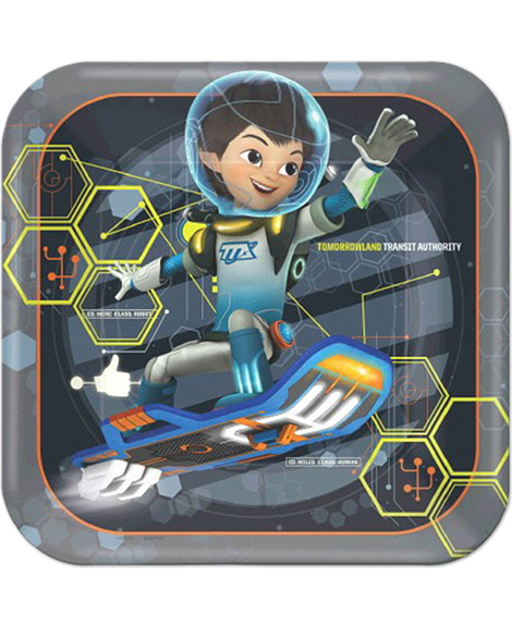 Miles From Tomorrowland Lunch Plates