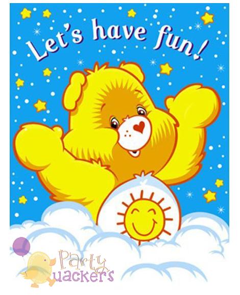 Care Bears Rainbow Party Invitations