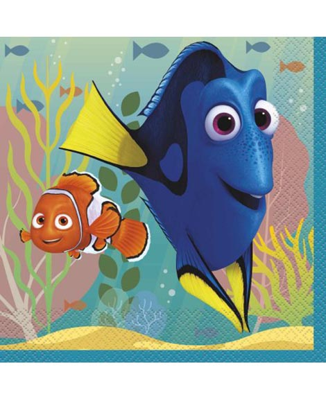 Finding Dory Lunch Napkins by Unique