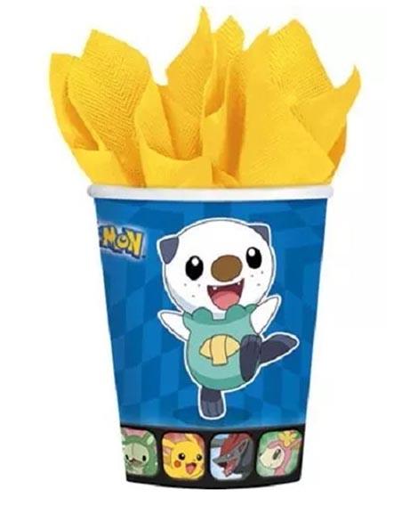 Pokemon Black and White 9 oz Paper Cups