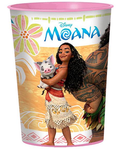 Disney Moana Keepsake 16 oz Favor Cups
