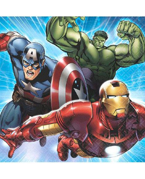 Avengers Assemble Marvel Beverage Napkins