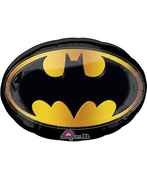 Batman Insignia Super Shaped 27 Inch Foil Mylar Balloon