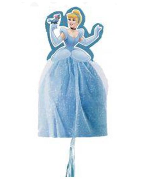 Cinderella Dreamland 3D Pull String Pinata