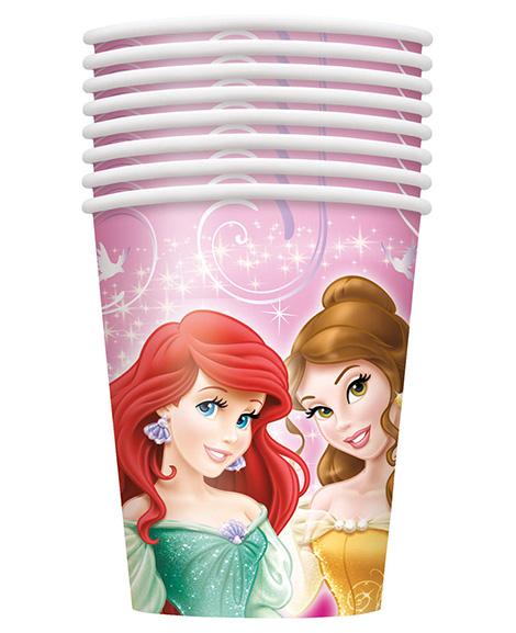 Disney Princess Sparkle Unique 9 oz Paper Cups
