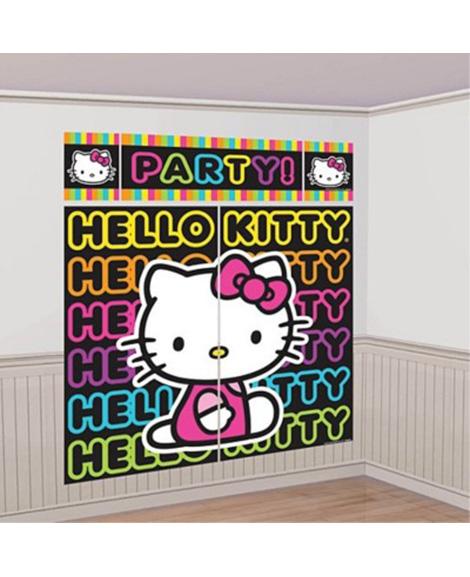 Hello Kitty Tween Scene Setter Decoration