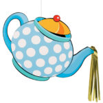 Mad Hatter Tea Party Hanging Decoration
